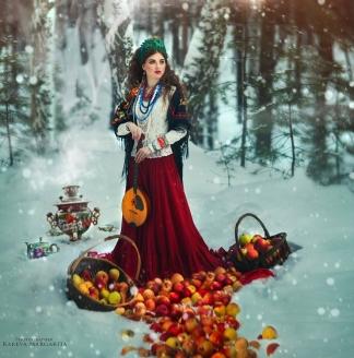femme-habits-russes-neige (2)