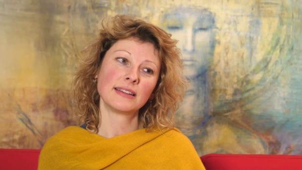 Stage «art et spiritualité» à Vezelay. Rencontre avec FrédériqueLemarchand