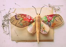 Mister Finch textile art 9
